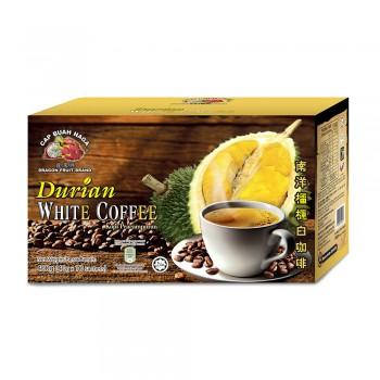 Dragon Fruit Brand - Roasted White Coffee Durian 40g x 10 sticks
