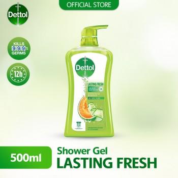 Dettol Shower Gel Lasting Fresh 500ml