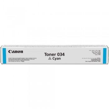 Canon Cartridge 034 Cyan Toner