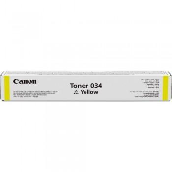 Canon Cartridge 034 Yellow Toner