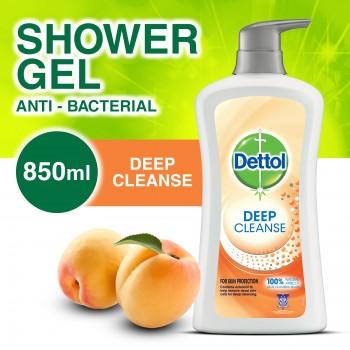 Dettol Deep Cleanse Shower Gel 850ml