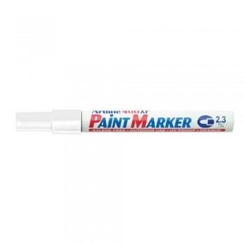 Artline 400XF Paint Marker Pen - 2.3mm Bullet Nib - White
