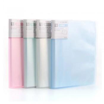 Kobest A4 20 Pocket Clear Book (A3022)