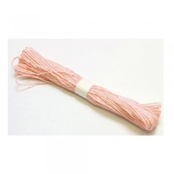 Colorful Paper Rope 25meters - Peach