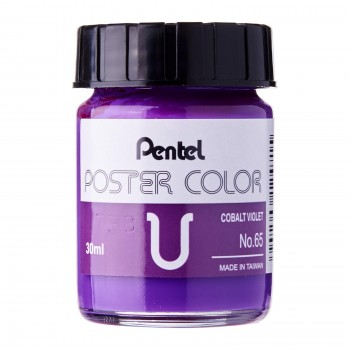 Pentel Poster Color U Cobalt Violet 30ml (No.65)