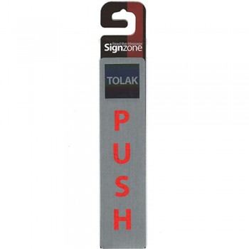 Signzone P&S Metallic -45190 PUSH (Item No: R01-91)