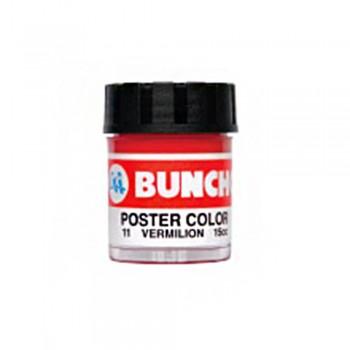 Buncho PC15CC Poster Color 11 Vermilion - 6/Box