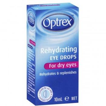 Optrex Rehydrating Eye Drops 10ML