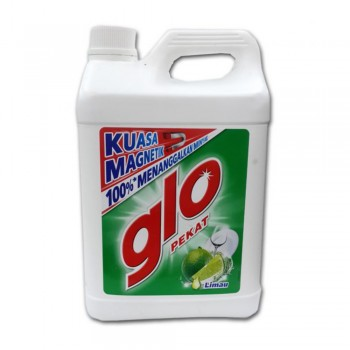 Glo Pekat Lime Dishwashing Liquid 5L