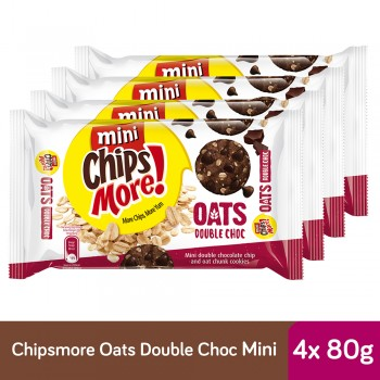 Chipsmore Oats Double Choc Cookies (80g x 4)