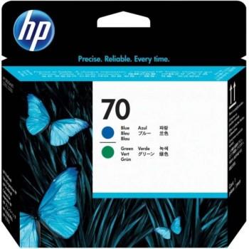 HP 70 DesignJet Printhead - Photo Blue/Green (C9408A)