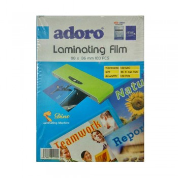 98x136mm LAMINATING FILM (100 PCS)