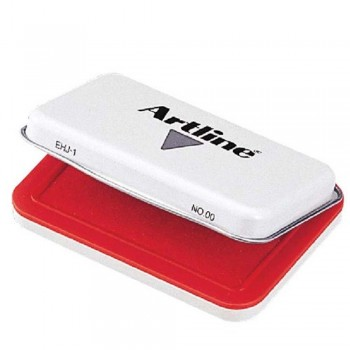 Artline Stamp Pad EHJ-1 - No.00 Red EHJ-1-RED