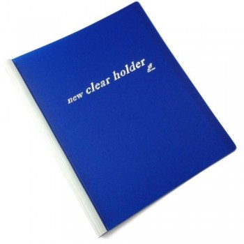 East-File Clear Holder 359A - A4 Size - Blue (Item No: B11-62-BL) A1R3B184