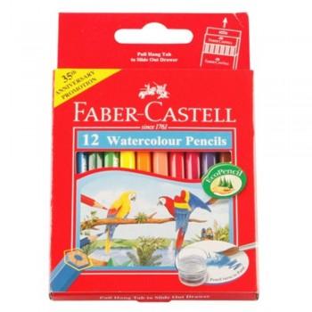 Faber Castell Watercolour Pencil 12S (Item No: B05-09) A1R2B137