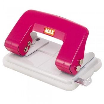 MAX DP-F2BN Paper Puncher - 13 sheets Capacity, B Type - PINK (Item No: B07-09 DPF2BNPK) A1R2B241