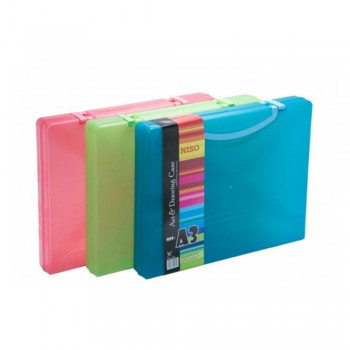 Niso A3 Document Case with Handle 60mm (No. 8160)