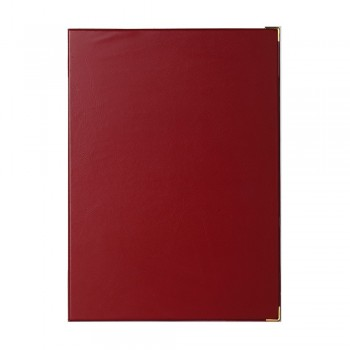 1169A Certificate Holder (without sponge) - Maroon