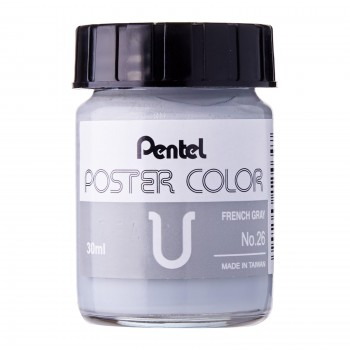 Pentel Poster Color U French Grey 30ml (No.26)