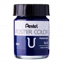 Pentel Poster Color U Prussian Blue 30ml (No.24)