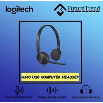 Logitech H340 USB Computer Headset
